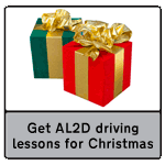 Get A Licence 2 Drive driving lessons for Christmas