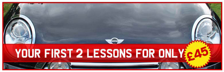 Get your first 3 lessons for only £55